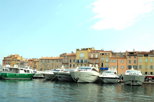 mercredie blog mode port de St Tropez bateau