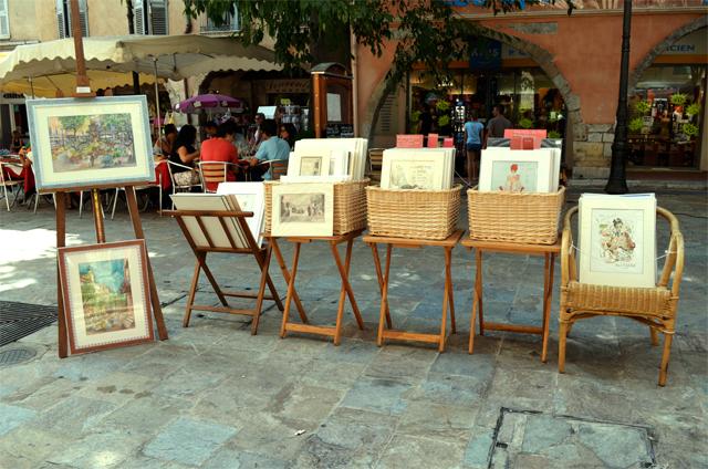 mercredie blog mode tableaux art Grasse