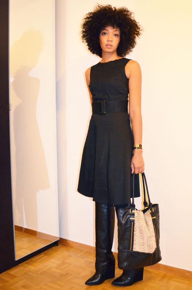 mercredie-blog-mode-robe-noire-bottes-zara-ersatz-givenchy-h&m-sac-topshop-fourrure