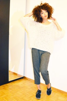 mercredie-blog-mode-beaute-geneve-suisse-pull-barnabe-mes-demoiselles-pantalon-carott-tweed-running-nike-free-run-3-4