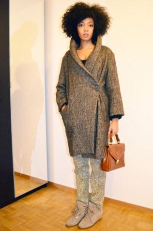 mercredie-blog-mode-look-lookbook-dolce-gabbana-isabel-marant-kookai-imprime-leopard-sneakers-gros-pull-manteau-la-redoute-sac-hermes-vintage