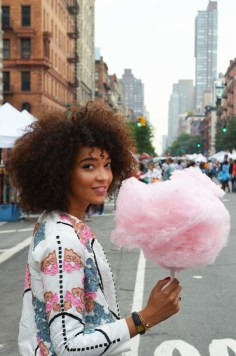 mercredie-blog-mode-voyage-nyc-new-york-upper-west-side-barbapapa-barbe-a-papa-cotton-candy-asos-jacket-sequins
