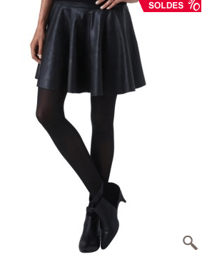 jupe-patineuse-promod-cuir-mercredie-blog-mode