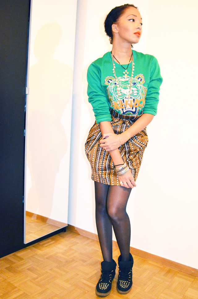 mercredie-blog-mode-beaute-fashion-look-outfit-kenzo-tiger-sweater-sweater-soldout-green-tigre-jupe-africa-asos-skirt-african-albatorock-ersatz-7