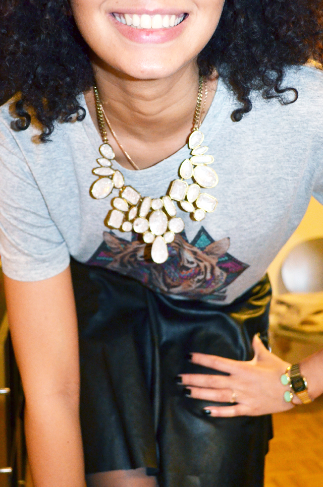 mercredie-blog-mode-beaute-geneve-collier-plastron-promod-jupe-cuir-promod-afro-hair-cheveux-nappy