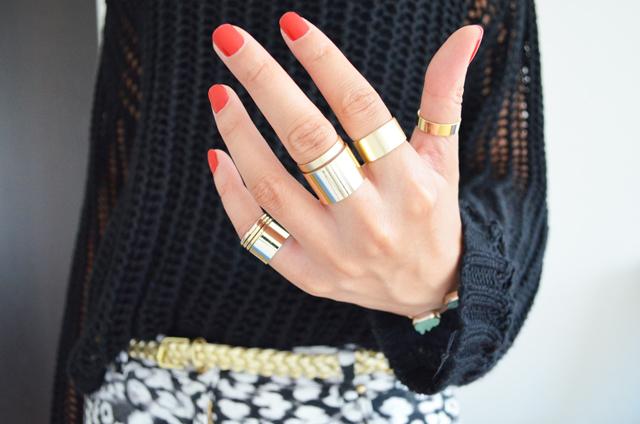 mercredie-blog-mode-bagues-ersatz-balenciaga-h&m-asos-rings-pull-grosses-mailles-ceinture-doree-2