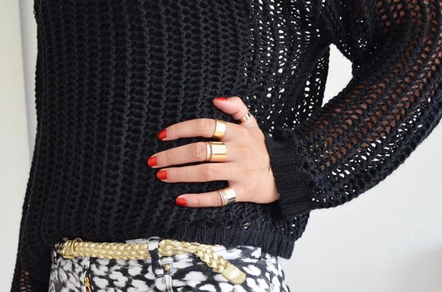 mercredie-blog-mode-bagues-ersatz-balenciaga-h&m-asos-rings-pull-grosses-mailles-ceinture-doree-big-apple-red-vernis-opi