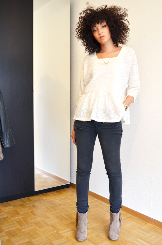 mercredie-blog-mode-geneve-suisse-maje-jean-scotch-afro-hair-spike-roseanna-ersatz-asos-isabel-marant-dickers-primark