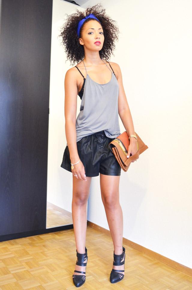 mercredie-blog-mode-beaute-geneve-asos-top-backless-dos-nu-fines-bretelles-short-cuir-sandales-talons-pull-bear-pochette-abaco-python