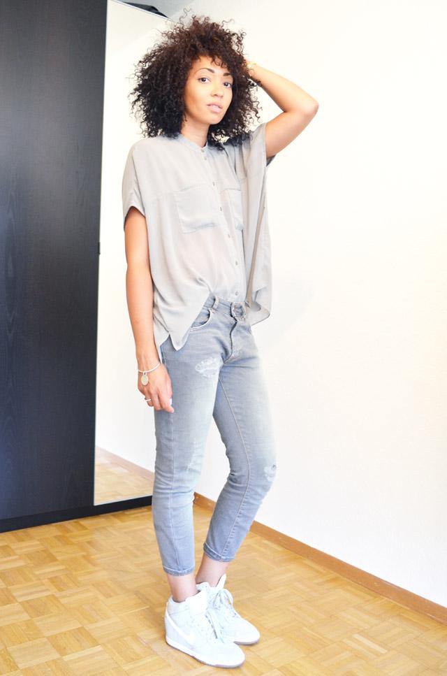 mercredie-blog-mode-geneve-suisse-asos-kaki-jean-boyfriend-zara-gris-nike-dunk-sky-white2
