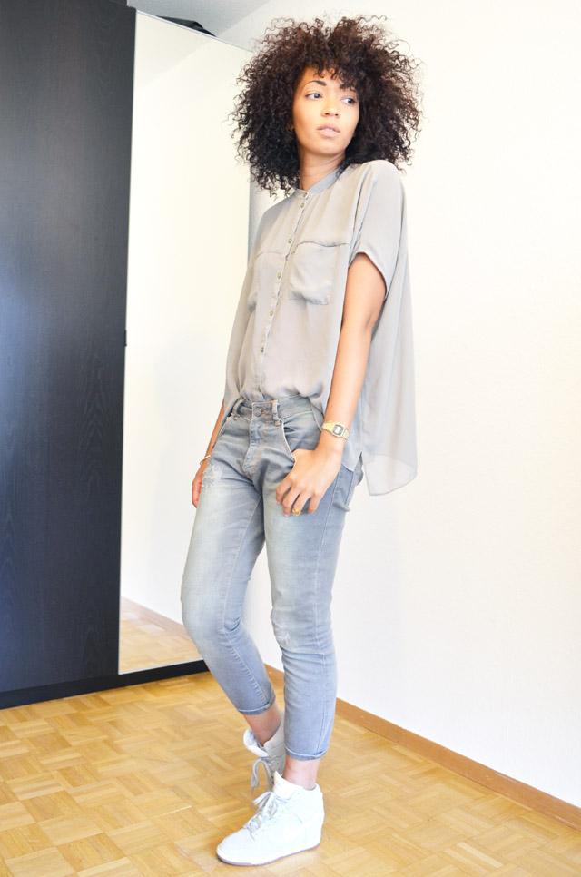 mercredie-blog-mode-geneve-suisse-asos-kaki-jean-boyfriend-zara-gris-nike-dunk-sky-white3