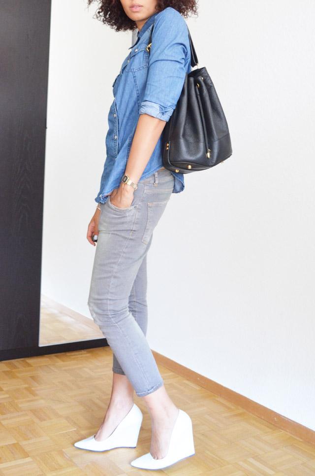 mercredie-blog-mode-geneve-switzerland-fashion-blogger-zara-escarpins-blanc-wedges-compenses-sac-sceau-apc-denim-shirt-chemise-jean