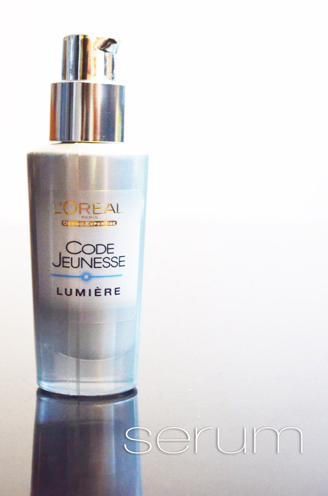 mercredie-blog-mode-routine-soins-visage-layering-mille-feuilles-loreal-code-jeunesse-lumiere-serum