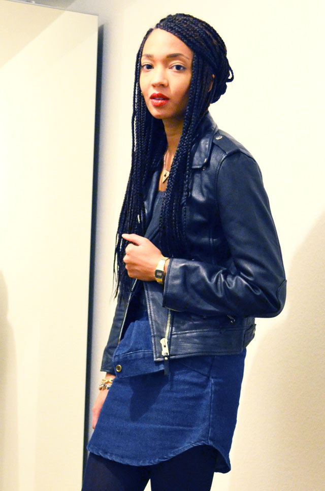 mercredie-blog-mode-geneve-suisse-blogueuse-perfecto-la-canadienne-choies-jupe-denim-box-braids-style.