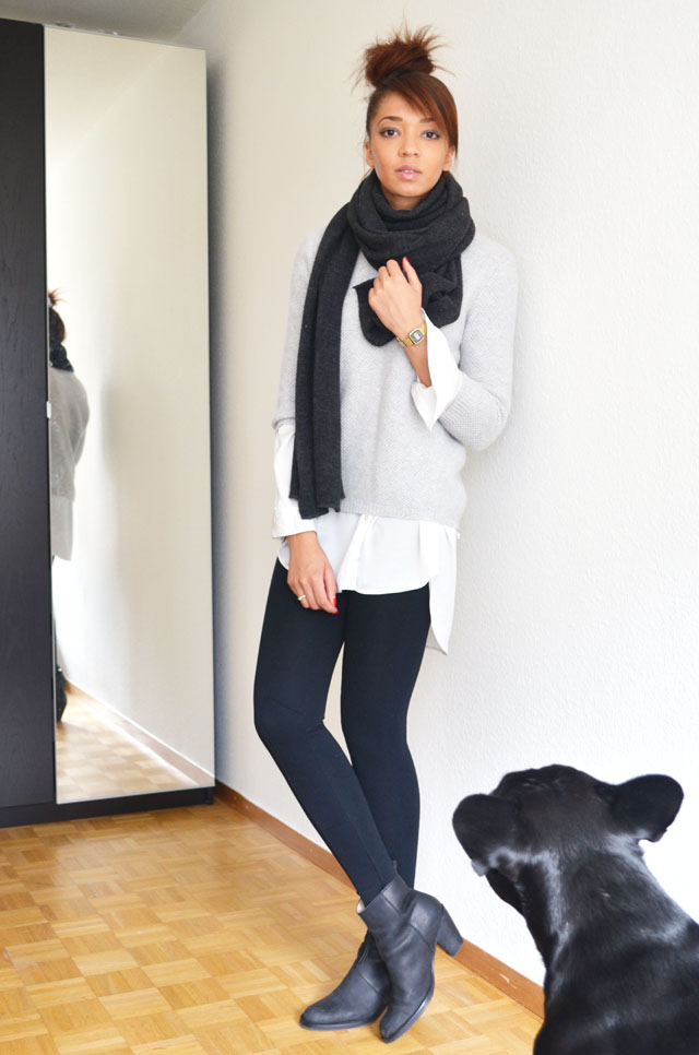 mercredie-blog-mode-geneve-suisse-fashion-blogger-zara-pistol-acne-look-outfit-american-apparel-legging-harlem-bouledogue-francais