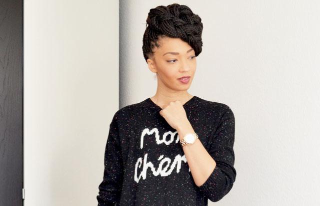 mercredie-blog-mode-robe-pull-asos-mon-cheri-boots-box-braids-pompadour-style-hair-styles-coiffures-braids-rasta2