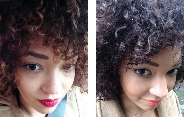 mercredie-blog-avant-apres-beaute-coloration-couleur-avis-bigen-chocolat-45-poudre-colorante-cheveux-afro-boucles-frises-test