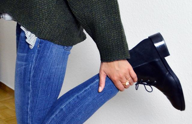 mercredie-blog-mode-pull-margaux-lonnberg-viktor-kaki-vert-jean-slim-and-other-stories