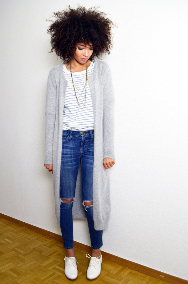 mercredie-blog-mode-gilet-long-acne-like-vila-modress-richelieu-blanc-boyfriend-jean-current-elliott2