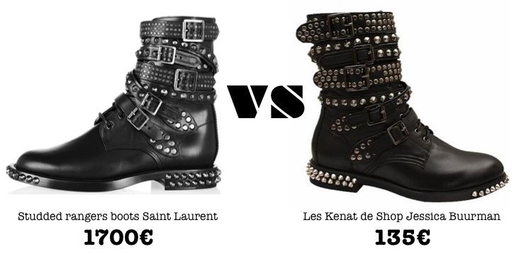 mercredie-blog-mode-shopping-boots-ersatz-dupe-saint-laurent-studded-rangers-kenat-jessica-buurman