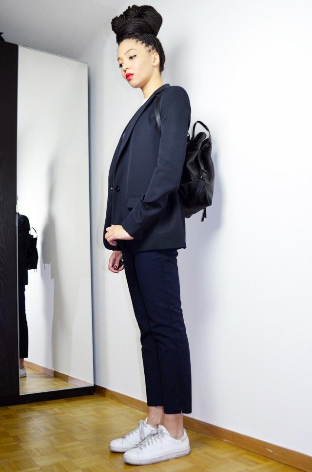 mercredie-blog-mode-stan-smith-adidas-all-white-sade-tshirt-sheinside-box-braids-oversized-bun-hairstyles-inspiration-acne-studios-mango-navy-blue-bleu-red-lips-opening-ceremony-backpack-izzy-2