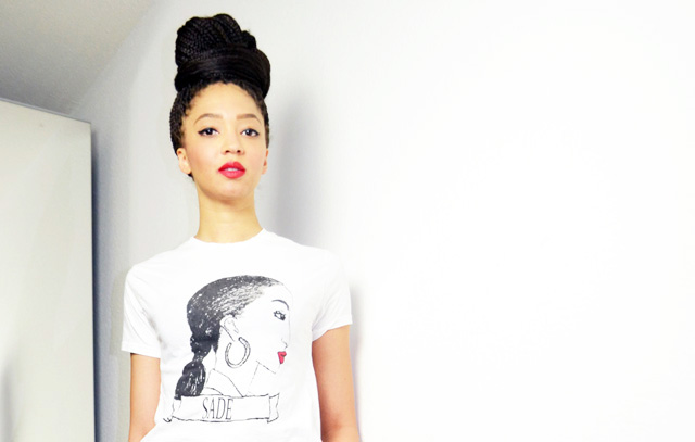 mercredie-blog-mode-stan-smith-adidas-all-white-sade-tshirt-sheinside-box-braids-oversized-bun-hairstyles-inspiration-red-lips