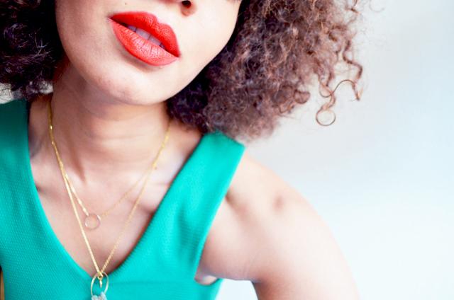 mercredie-blog-mode-beaute-lipstick-rouge-levres-mac-lady-danger-top-vert-mango