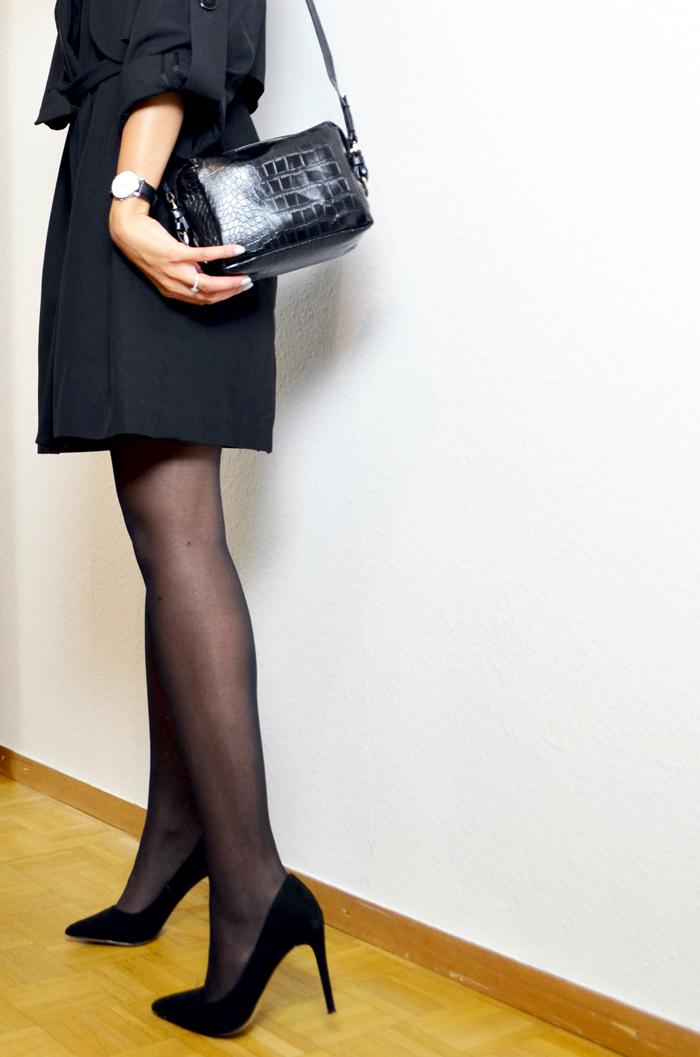mercredie-blog-mode-beaute-geneve-trench-coat-carven-paris-black-ysl-lipstick-rose-perfecto-escarpins-asos-sac-zara-crocodile