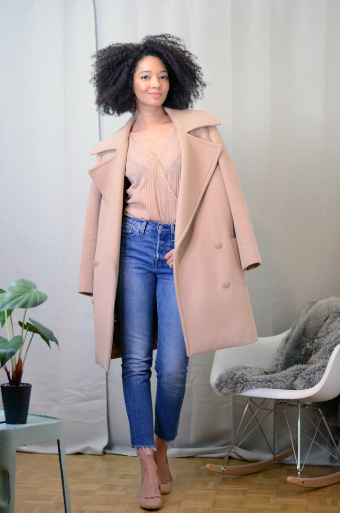 mercredie-blog-mode-zara-promod-ballerines-talons-nude-levis-wedgie-fit-jeans-cache-coeur-coat-oversized-beige-nude-manteau-stella-mccartney-izzy-backpack-bag-opening-ceremony-leather3