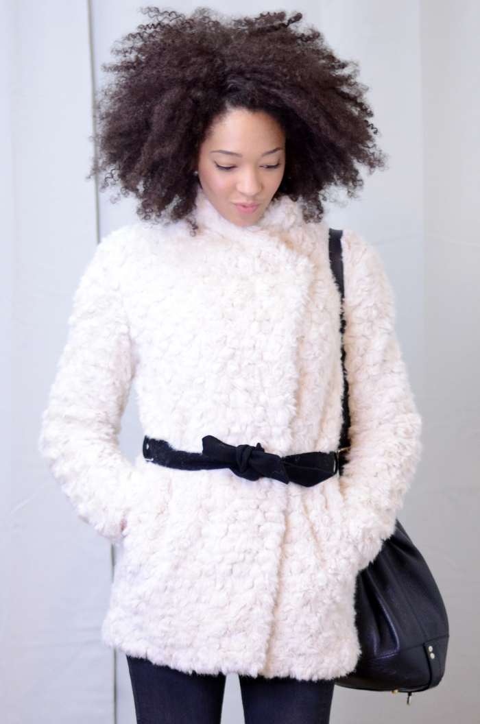 mercredie-blog-mode-soldes-promod-manteau-fausse-fourrure-sac-seau-apc-cheveux-naturels-afro-lacewig-big-beautiful-hair-outre