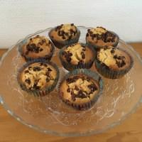 En cuisine: les muffins aux pépites de chocolat