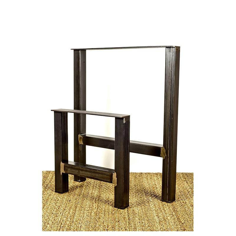 pied de table metal industriel design hercule
