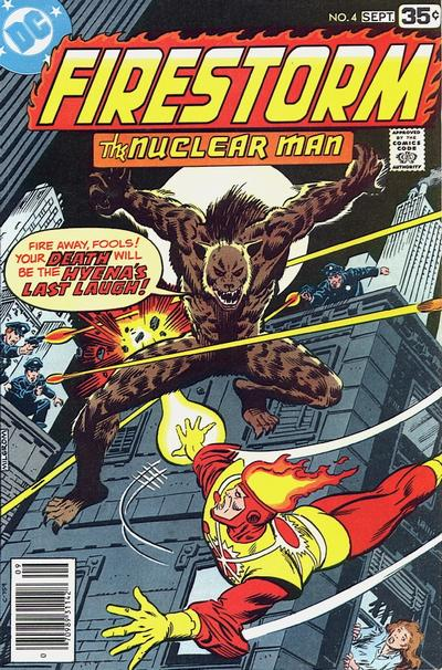 Firestorm the Nuclear Man #4