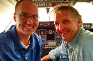 Ask Dr. Bunny.  How can I learn to fly a plane? Michael Phillips, guest