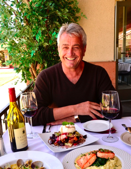 Ask Dr. Bunny. 53 years in the restaurant business? Giovanni Tromba, guest.