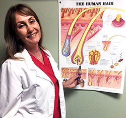 Cheryl Conway, Guest Host for Dr. B. ~ On Dr. Bunny's Awesome Thermolysis Treatment!