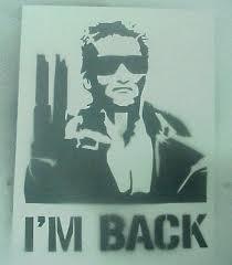 images i'm back
