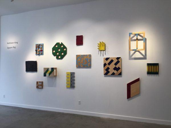Installation, Square Peg show April 2016