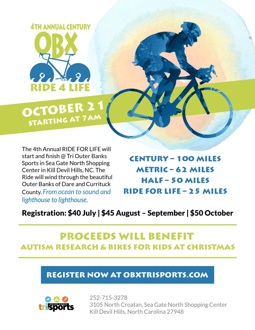 Cycle Fundraising Event