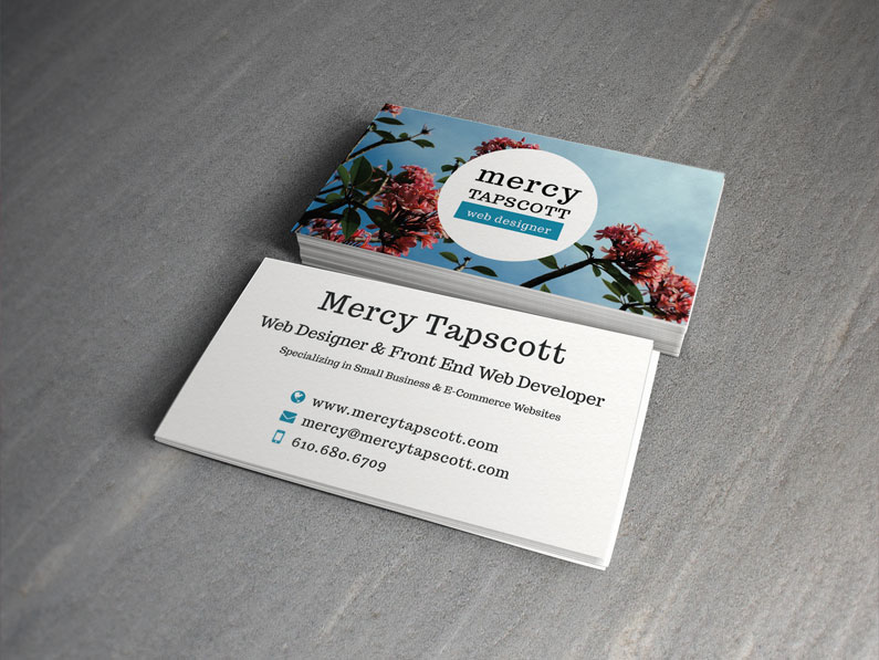 Mercy's Business Cards