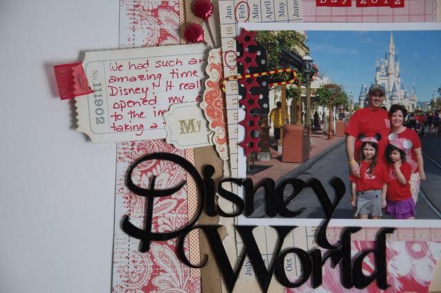 Disney World Hidden journalling