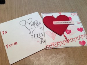 Kids' Craft: Valentine's Day cards
