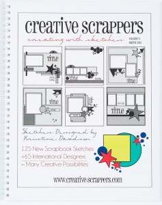 Fab Find Friday: Creative Scrappers Sketchbook