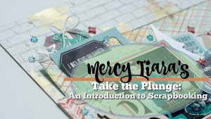 How To Scrapbook 5: Creating A Layout Real Time Instructional Process Video