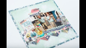 Scrapbooking Process: 70th Birthday Bash