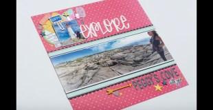 Scrapbooking Process: Explore Peggy's Cove