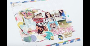 Scrapbooking Process: Awesome Weekend Getaway (Kit Cut Go)