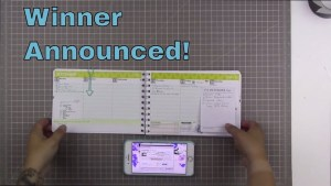 Personal Planner winner!