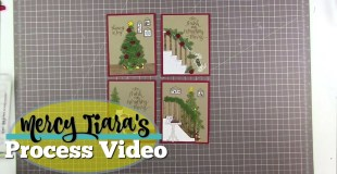 Stampin Up Christmas Card and Giveaway!