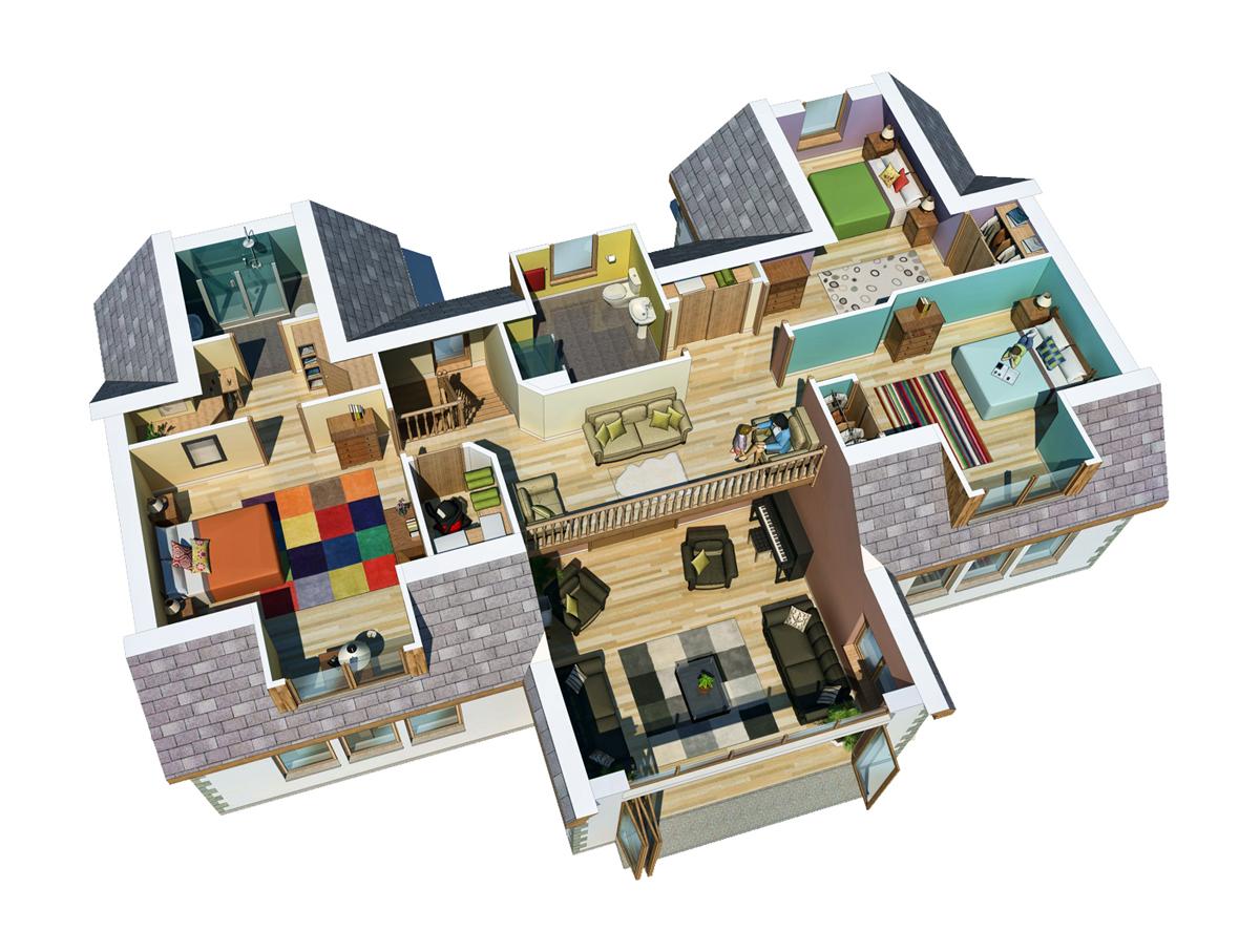 Floor Plans Design Portfolio